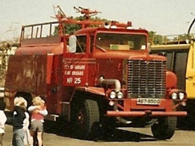 Fire Engine in Harare