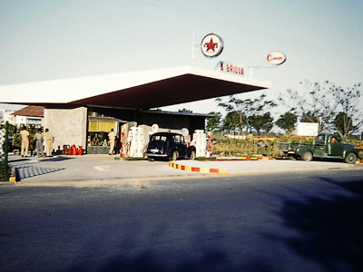 Filling Station on way to